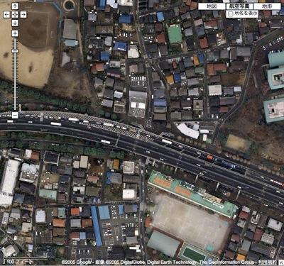 Google マップ (20080506).jpg